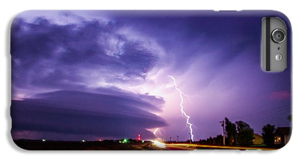 Nebraskasc iPhone 6s Plus Case - Tornado Warning In Northern Buffalo County by NebraskaSC