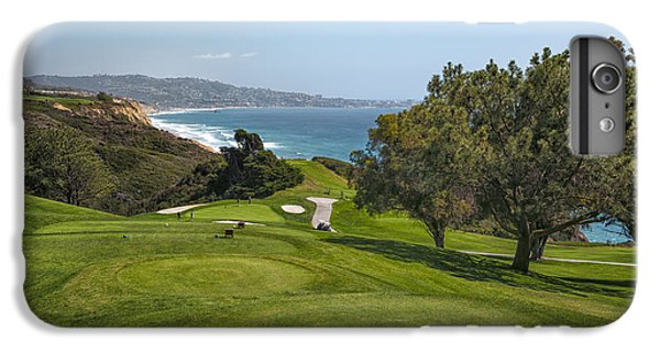 Bar iPhone 6s Plus Case - Torrey Pines Golf Course North 6th Hole by Adam Romanowicz