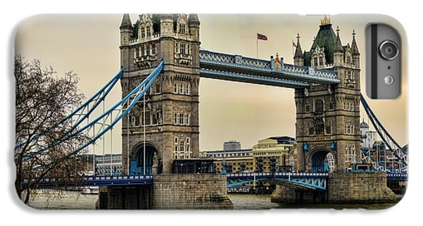 Tower Of London iPhone 6s Plus Case - Tower Bridge On The River Thames by Heather Applegate