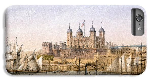 Tower Of London, 1862 IPhone 6s Plus Case by Achille-Louis Martinet