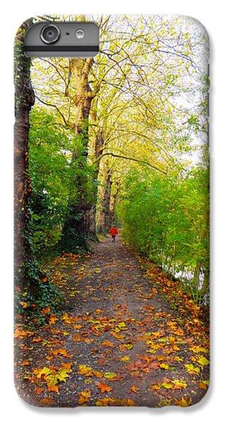 Traversee De L'automne Au Bord Du Canal De Seclin IPhone 6s Plus Case