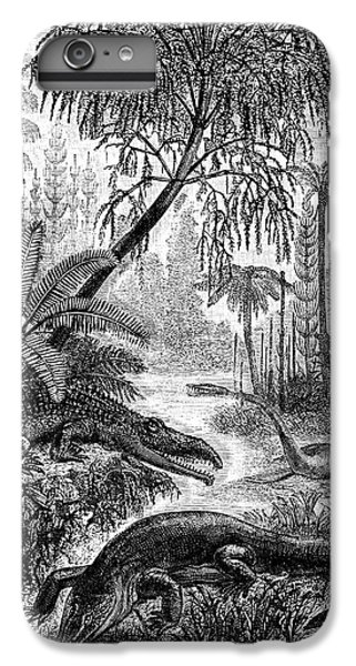 Triassic World IPhone 6s Plus Case by Collection Abecasis