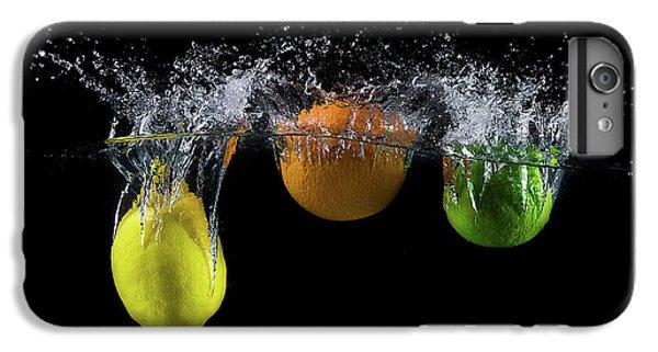 Explosion iPhone 6s Plus Case - Triple Citrus Splash by Mogyorosi Stefan