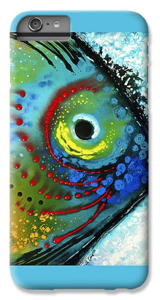 Tropical Fish - Art By Sharon Cummings IPhone 6s Plus Case by Sharon Cummings