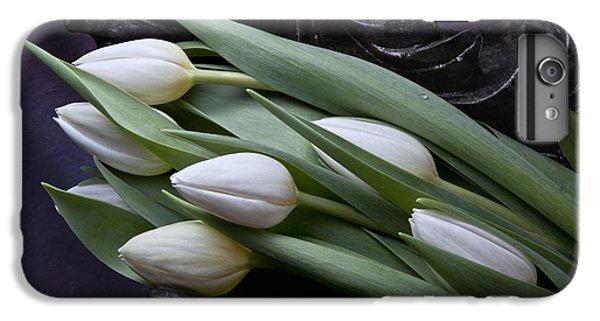 Tulip iPhone 6s Plus Case - Tulips Laying In Wait by Tom Mc Nemar