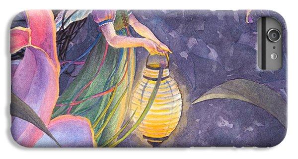 Flower Fairy iPhone 6s Plus Case - Twilight Lilies by Sara Burrier
