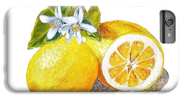 Two Happy Lemons IPhone 6s Plus Case by Irina Sztukowski