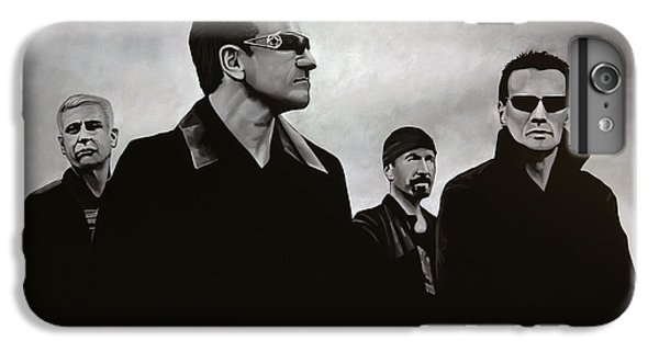 Musicians iPhone 6s Plus Case - U2 by Paul Meijering