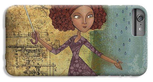 Umbrella iPhone 6s Plus Case - Umbrella Girl by Karyn Lewis Bonfiglio