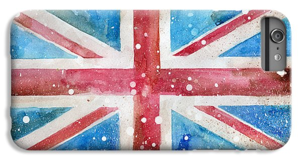 Def Leppard iPhone 6s Plus Case - Union Jack by Sean Parnell