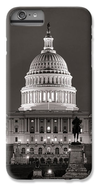 Washington D.c iPhone 6s Plus Case - United States Capitol At Night by Olivier Le Queinec