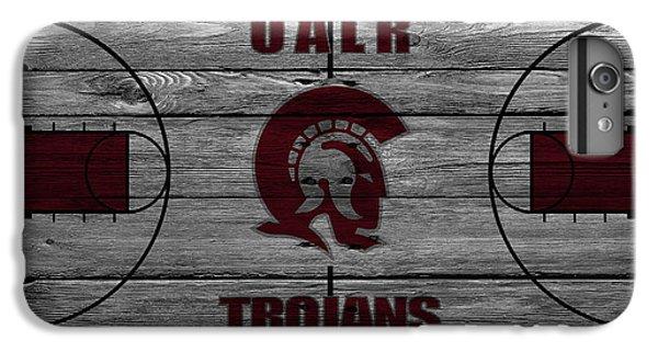 University Of Arkansas iPhone 6s Plus Case - University Of Arkansas At Little Rock Trojans by Joe Hamilton