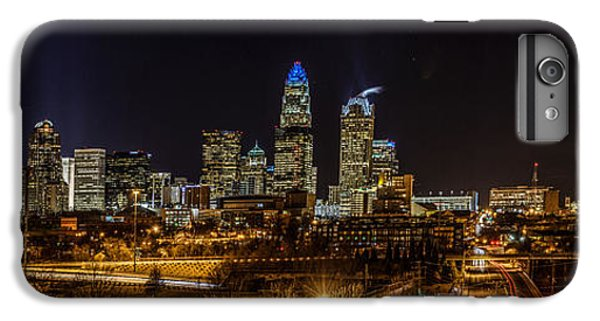 Uptown Charlotte Panorama IPhone 6s Plus Case by Randy Scherkenbach