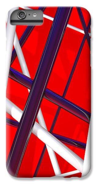 Van Halen iPhone 6s Plus Case - Van Halen 3d Iphone Cover by Andi Blair