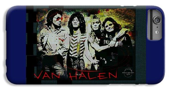 Van Halen iPhone 6s Plus Case - Van Halen - Ain't Talkin' 'bout Love by Absinthe Art By Michelle LeAnn Scott