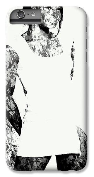 Venus Williams Paint Splatter 2c IPhone 6s Plus Case by Brian Reaves
