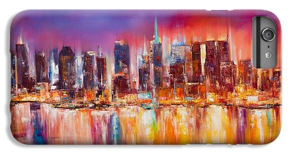 Vibrant New York City Skyline IPhone 6s Plus Case by Manit
