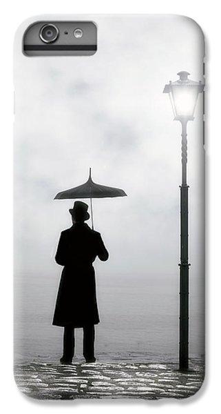 Umbrella iPhone 6s Plus Case - Victorian Man by Joana Kruse