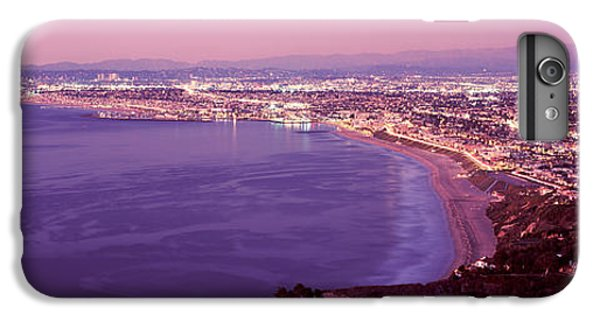 Venice Beach iPhone 6s Plus Case - View Of Los Angeles Downtown by Panoramic Images