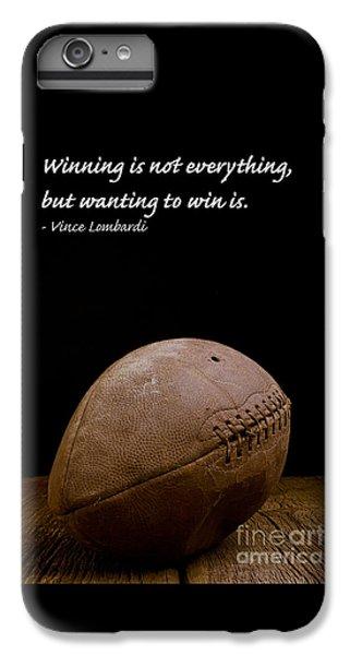Vince Lombardi On Winning IPhone 6s Plus Case