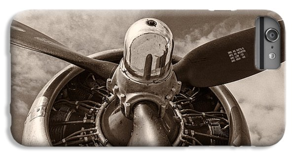 Airplane iPhone 6s Plus Case - Vintage B-17 by Adam Romanowicz
