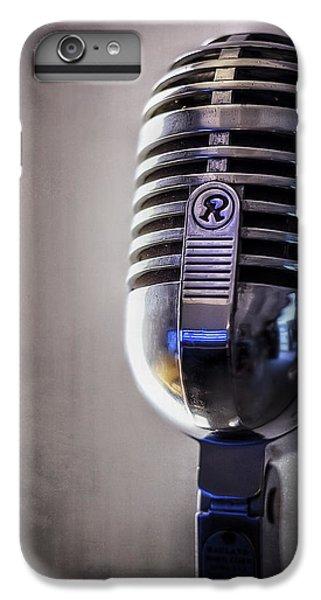 Jazz iPhone 6s Plus Case - Vintage Microphone 2 by Scott Norris