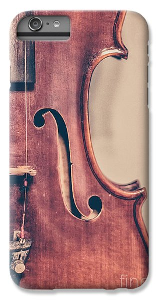 Violin iPhone 6s Plus Case - Vintage Violin Portrait 2 by Emily Kay