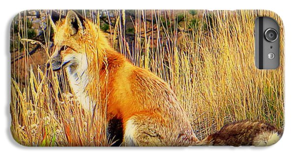 IPhone 6s Plus Case featuring the photograph Vixen by Karen Shackles