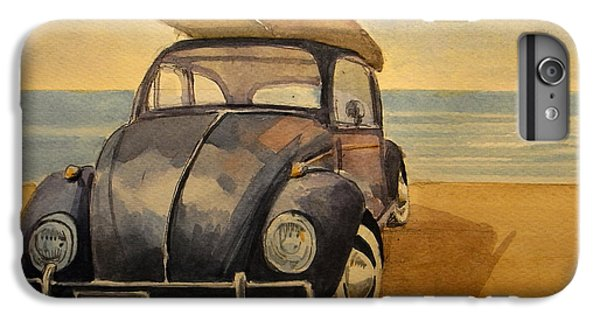 Beetle iPhone 6s Plus Case - Volkswagen Beetle by Juan  Bosco