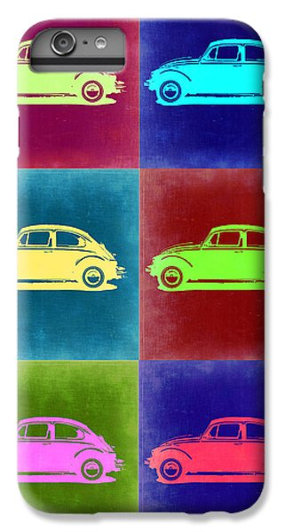 Beetle iPhone 6s Plus Case - Vw Beetle Pop Art 2 by Naxart Studio