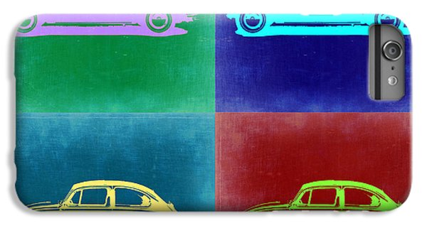 Beetle iPhone 6s Plus Case - Vw Beetle Pop Art 3 by Naxart Studio