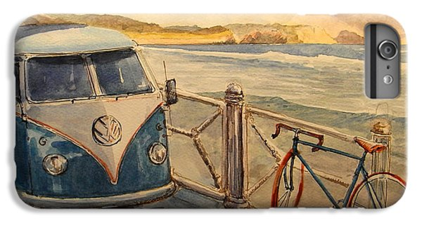 Bicycle iPhone 6s Plus Case - Vw Westfalia Surfer by Juan  Bosco