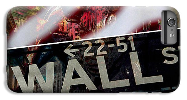 Wall Street IPhone 6s Plus Case by Marvin Blaine