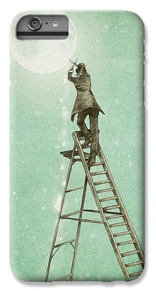 Fantasy iPhone 6s Plus Case - Waning Moon by Eric Fan