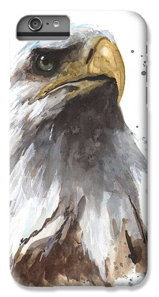 Watercolor Eagle IPhone 6s Plus Case by Alison Fennell