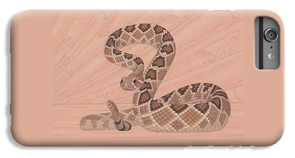 Diamondback iPhone 6s Plus Case - Western Diamondback Rattlesnake by Nathan Marcy