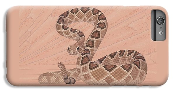 Western Diamondback Rattlesnake IPhone 6s Plus Case by Nathan Marcy