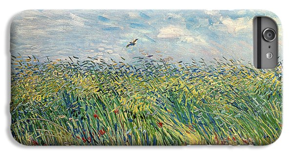 Impressionism iPhone 6s Plus Case - Wheatfield With Lark by Vincent van Gogh