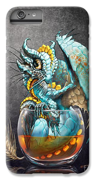 Dragon iPhone 6s Plus Case - Whiskey Dragon by Stanley Morrison