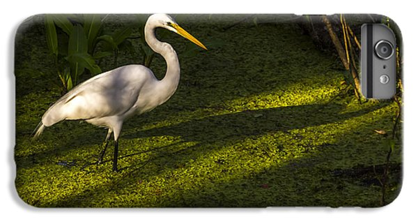 Egret iPhone 6s Plus Case - White Egret by Marvin Spates