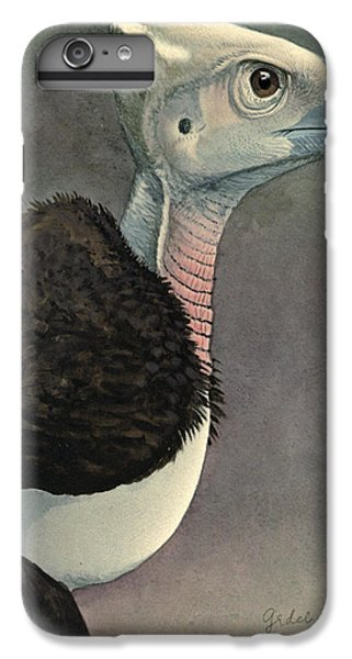 Vulture iPhone 6s Plus Case - White Headed Vulture by Dreyer Wildlife Print Collections