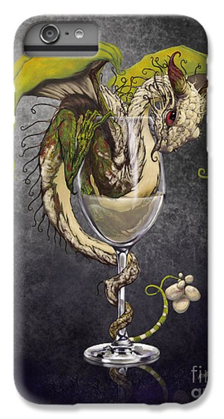 White Wine Dragon IPhone 6s Plus Case