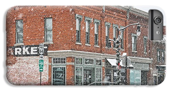 Whitehouse iPhone 6s Plus Case - Whitehouse Ohio In Snow 7032 by Jack Schultz
