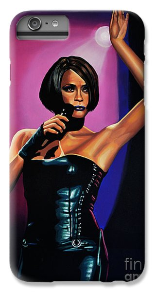 Rhythm And Blues iPhone 6s Plus Case - Whitney Houston On Stage by Paul Meijering