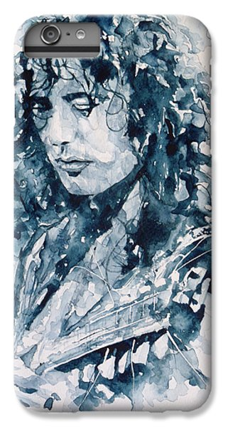 Musicians iPhone 6s Plus Case - Whole Lotta Love Jimmy Page by Paul Lovering