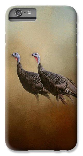 Wild Turkey At Shiloh IPhone 6s Plus Case by Jai Johnson