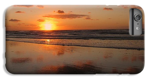 Wildwood Beach Sunrise IPhone 6s Plus Case by David Dehner