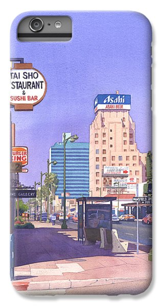 Wilshire Blvd At Mansfield IPhone 6s Plus Case by Mary Helmreich