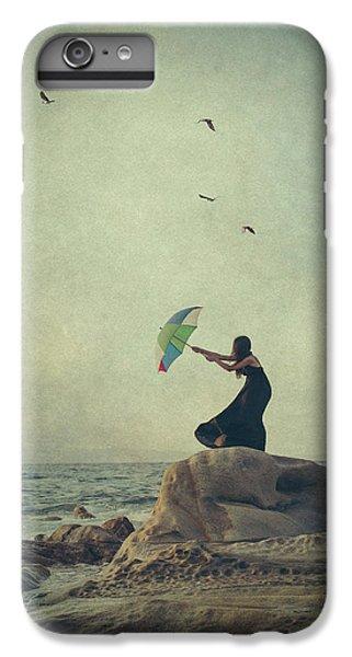 Umbrella iPhone 6s Plus Case - Wind Catcher by Svetlana Bekyarova