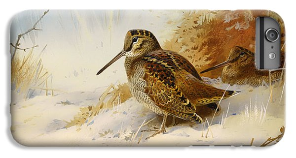 Winter Woodcock IPhone 6s Plus Case by Mountain Dreams